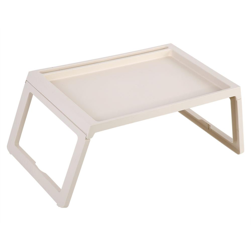 Foldable Desk Breakfast Bed Table Computer Laptop Holder Portable Serving Tray