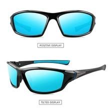 Polarized Night Vision Sports Sunglasses Polarized Fishing Glasses Summer Outdoor HD UV Protection Sunglasses Climbing Glasses