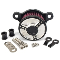 Hot Motorcycle Air Filter Cleaner Intake Filter System Kit Motor Bike For Sportster Xl883 Xl1200 1992 1993 2016 Air Purifier Parts     -