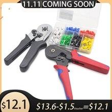 HSC8 6 6  0.25 6mm 23 10AWG MINI TYPE SELF ADJUSTABLE CRIMPER PLIER  terminals crimping tools tube terminal crimp tool
