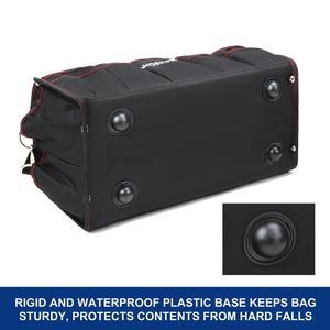 "Image 3 - Workpro 16 ""600d ferramenta dobrável saco de ombro bolsa ferramenta organizador saco de armazenamento"