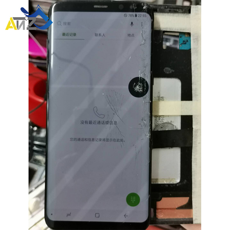 Touch Work Pracitce Lcd Screen For Samsung Galaxy S6 S7 Edge S8 S9 S10 Plus Note 8/9 With Frame Separate Laminate Train Practice