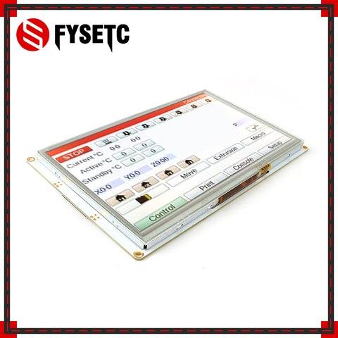fysetc 7 controllers 7 7 polegadas paneldue