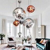 Nordic Lava LED Anhänger Lichter Moderne PVC Decor Lampe Wohnzimmer Küche Hängen Lampen Industrie Loft Innen Beleuchtung Hanglamp