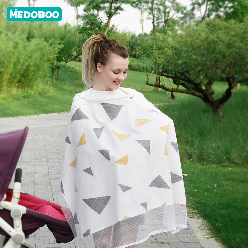 Medoboo Baby Nursing Cover Carseat Towel Blanket Lactation Breastfeeding Cover Baby Car Seat Covers for Nursing Mothers in Nursing Covers from Mother Kids