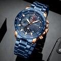 CRRJU модные мужские часы Топ люксовый бренд хронограф наручные часы мужские спортивные водонепроницаемые кварцевые часы мужские relogio masculino