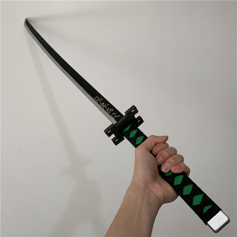 Kimetsu no Yaiba меч оружие нож реквизит демон убийца Косплей танджиру самурайский меч PU ниндзя Cos PU модель 104 см|Игровые мечи| | АлиЭкспресс