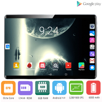 2020 2.5D IPS tablet PC 4G Android 8.0 Octa Core Google Play The tablets 6GB RAM 128GB ROM WiFi GPS 10' tablet Steel Screen 10|Tablets|Computer & Office -