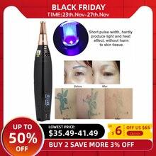Skar dövme kaldırma lazer kalem çil akne Mole karanlık nokta Pigment dövme kaldırma güzellik makinesi Pro onarım Picosecond Pen Salon