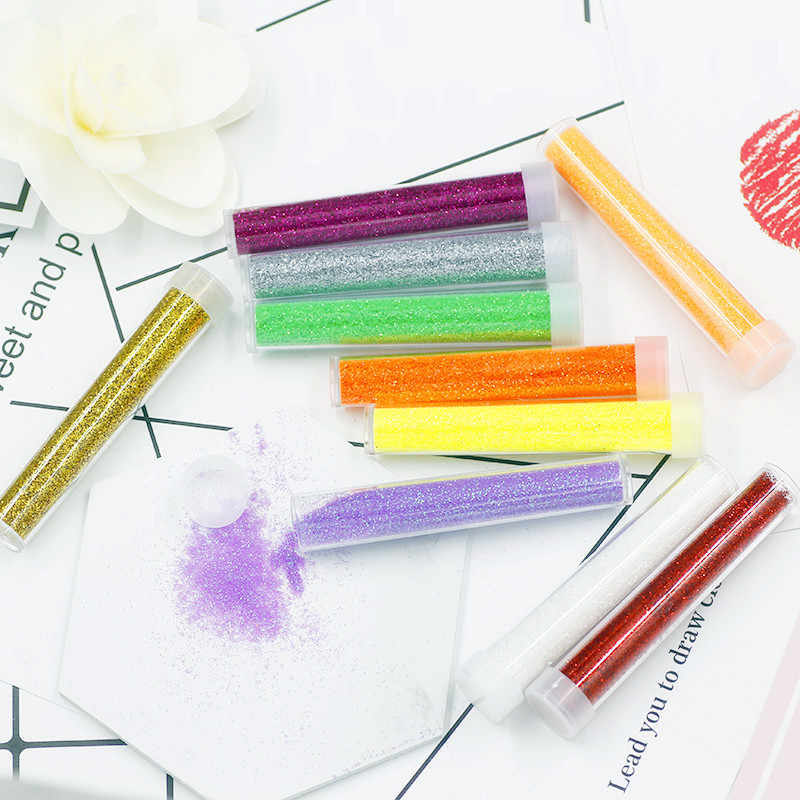 3.5G Payet/Glitter Pengisi Bening/Slime Kotak Mainan untuk Anak Pesona Pemodelan Tanah Liat DIY Kit Aksesoris hadiah Lucu