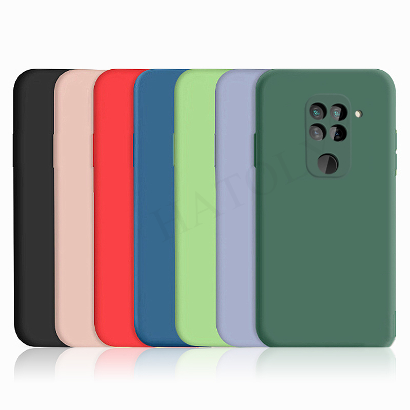 For Xiaomi Redmi Note 9S 9 Pro Case Cover Mi Note 10 Lite Pro Liquid Silicone Soft TPU Bumper Phone Back Case Redmi Note 9 10X(China)