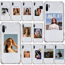 Lana Del Rey transparente de la caja Del teléfono para Samsung Galaxy A71 A21s S8 S9 S10 plus Nota 20 ultra
