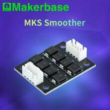 Makerbase MKS filtro paso a paso más suave, módulo addon para controladores de motor de impresora 3D, terminador de controlador de motor reprap mk8 i3