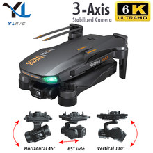GD91 MAX drone 6k gps 5g wifi 3 axes cardan caméra moteur sans brosse TF carte rc distance 1.2km rc quadrirotor caméra professionnelle