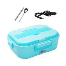 Portable Lunch Box Food Container Electric Heating Food Warmer Heater Rice Container Dinnerware Sets electric food warming display showcase hotdog warmer cabinet high quality food warming display case food heating show case
