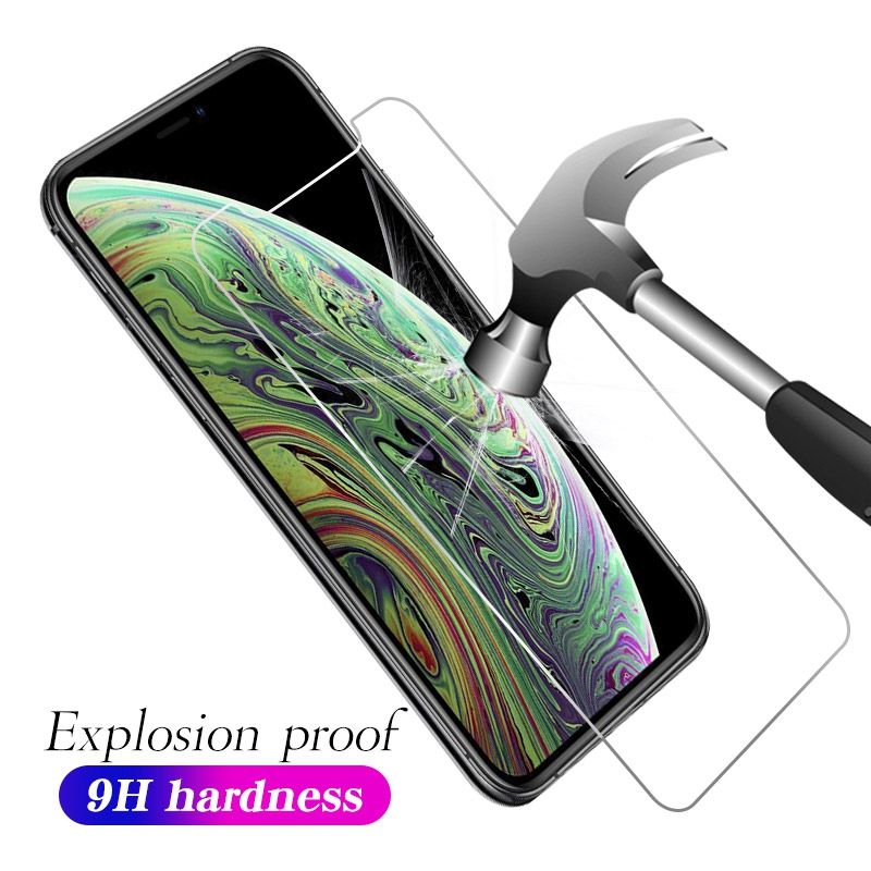 Tempered-Glass 8-X-Screen-Protector iPhone 7 8-Plus for 6 7-5 Se 6/6s/8-plus/..