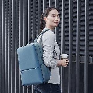 Image 2 - Orijinal Xiaomi Mi klasik iş sırt çantası 2 nesil seviye 4 su geçirmez 15.6 inç 18L Laptop omuz çantası açık seyahat çantası