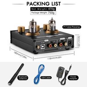 Image 5 - Nobsound HiFi Bluetooth 5.0 6J5 zawór rury przedwzmacniacz bas Stereo Audio wzmacniacz słuchawkowy z USB DAC APTX
