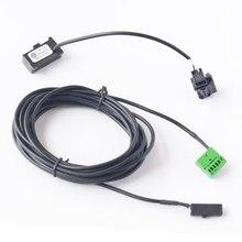 Bluetooth проволочные кабели проводки + микрофон для VW RCD510 RNS510 RNS315 CD-плеер для Skoda OCTAVIA III Columbus для сиденья MediaSystem