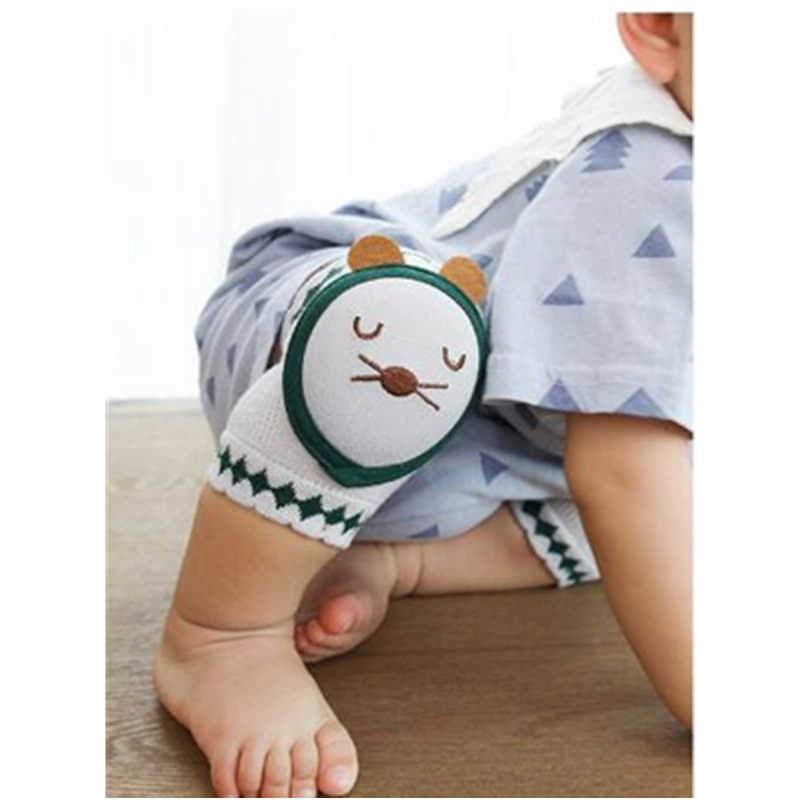 Sıcak yenidoğan bebek yürüyor bacak ısıtıcısı bebek dizlik çocuklar güvenlik emekleme pedleri pamuk diz desteği koruyucu bebek dizkapağı 1 çift