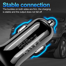 3 Ports USB Car Charger Quick Charge 3.0 Fast Car Cigarette Lighter For all Phones