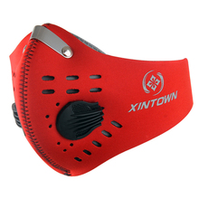 Outdoor Soft Anti Dust Bicycle Face Mask With Filter Activated Carbon Men Women Running Cycling Anti-Pollution Bike