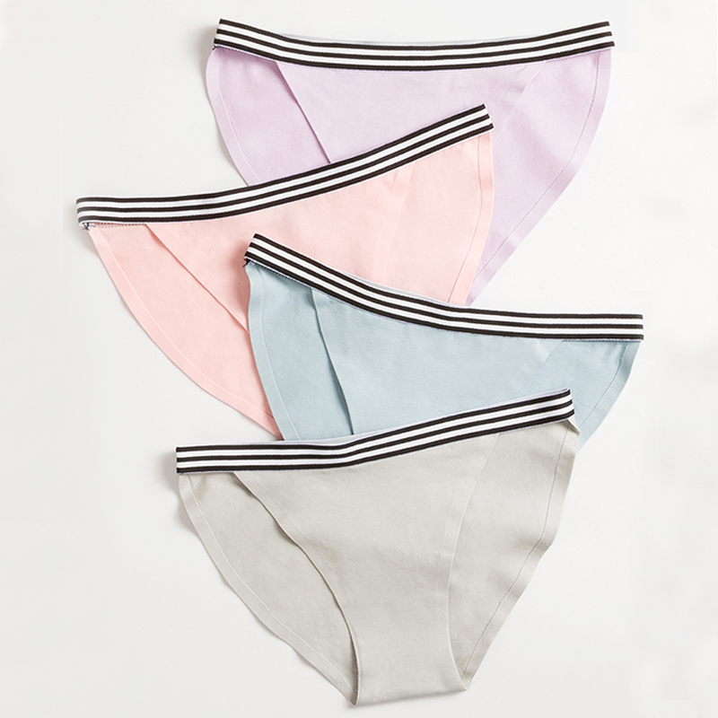 Women Panties Sexy Underwear Seamless Lingerie Invisible Panties Briefs Female Underpants Low-rise Pants Thong #F