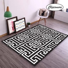 Chpermore Retro creative design Large Carpets Non-slip Tatami Mats Bedroom Lving Room Rug Floor Rugs Children #8217 s non-slip mat cheap Modern Machine Made Rectangle home hotel Decorative Kilim Hand Wash Plain Solid Parlor 100 Polyester retail