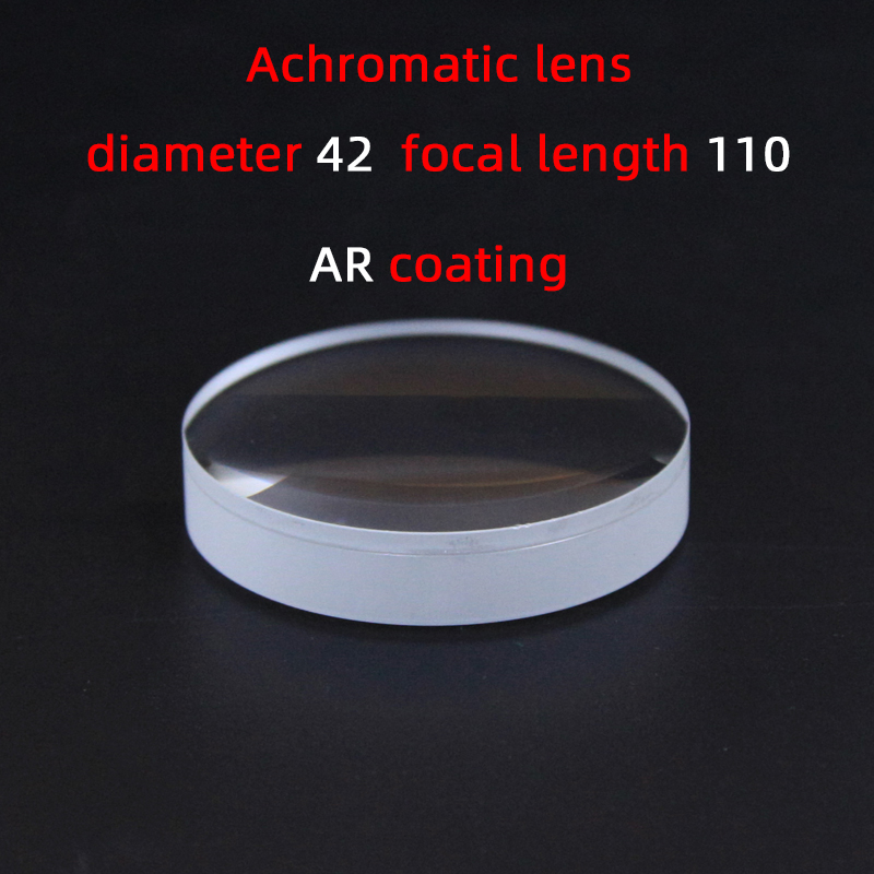 Diameter42 Focal Length110 Achromatic Lens Factory Custom Telescope Lens Magnifier Various Sizes