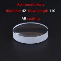 Diameter42 Focal length110 achromatic lens factory custom telescope lens magnifier various sizes|Lenses| |  -