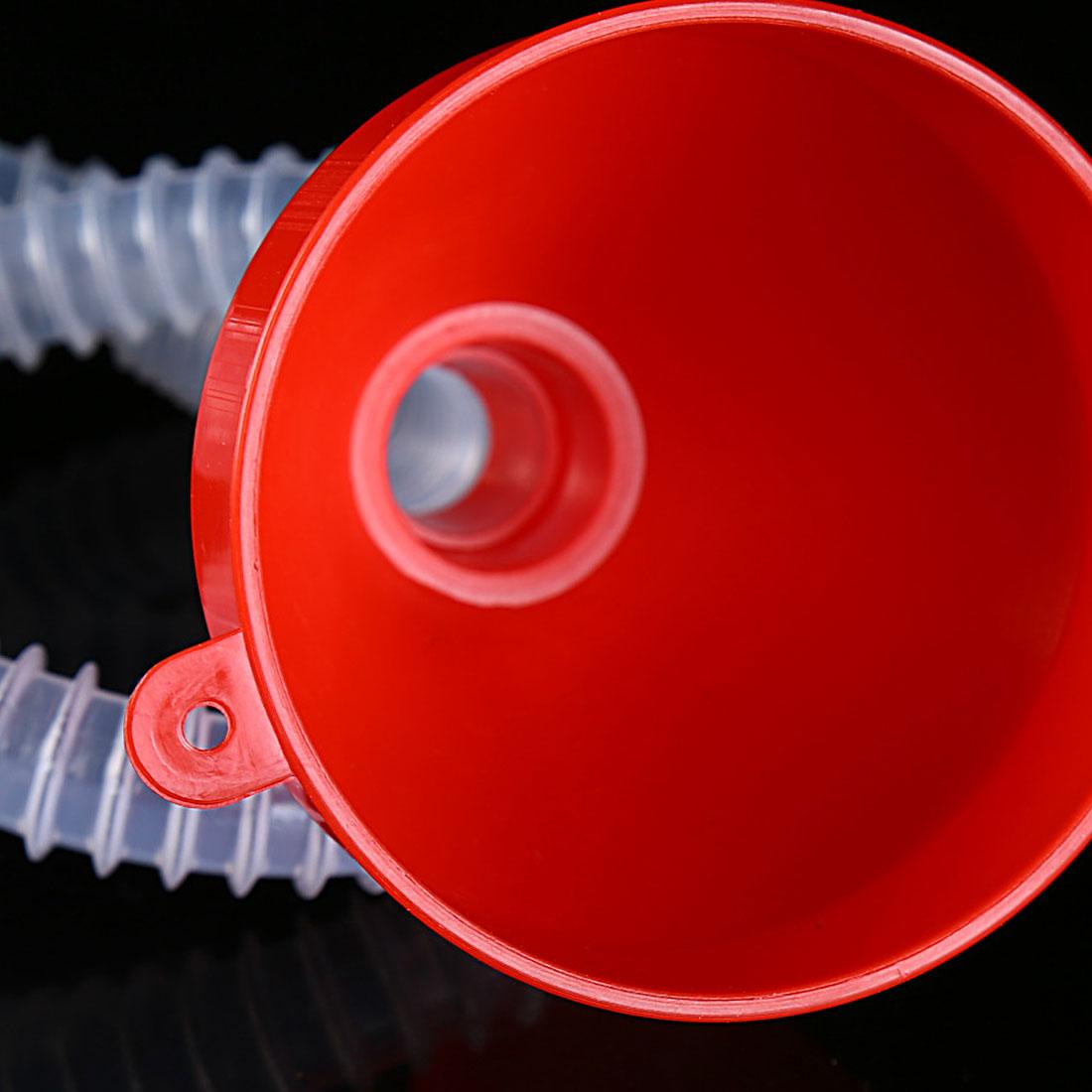 Автомобиль-partment Pour масляный инструмент автомобиль мотоцикл грузовик автомобиль пластиковая воронка с мягкой трубкой носик бензиновый дизельный автомобиль