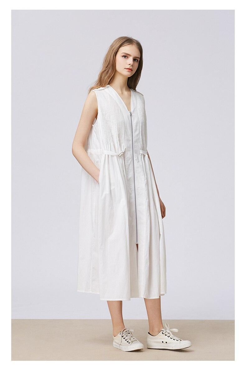 Женское длинное платье, летнее повседневное белое приталенное платье, облегающее хлопковое повседневное женское платье Shein, Пляжное Платье