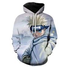 С героями аниме «Наруто» гаары 3d куртка с принтом для мужчин/для