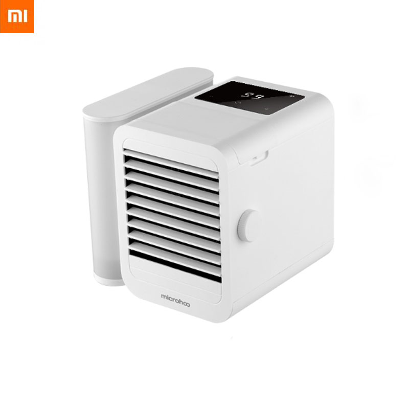 Xiaomi Microhoo Mini Air Conditioner 6W 1000ml Water Capacity Type-C Touch-Screen Dormitory Office Desktop Air Conditioning Fan
