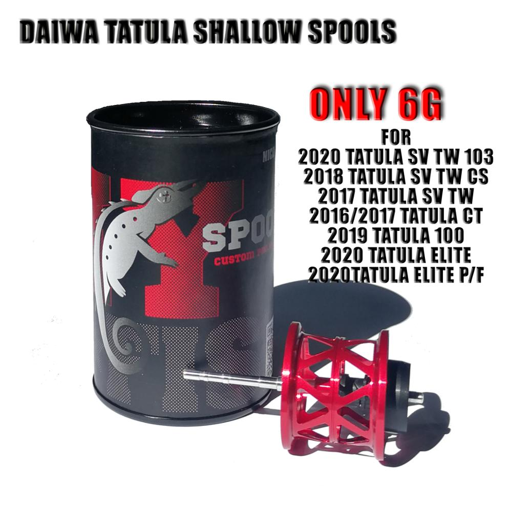 2020 Новый 6g BFS Daiwa Tatula Fuego Diy запасная шпуля 3 размера для целую серию Elite SV TW CT CS 100 103 катушка для заброса приманки катушки