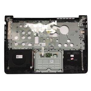 Image 5 - Dellのinspiron 14 5000 5447 5445 5448 lcdトップカバー/lcd前面ベゼル/パームレストアッパータッチパッド/90% 新ボトムケースカバー