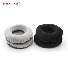 цена на YHcouldin Velvet Ear Pads For FOSTEX TH900 TH900MK2 Replacement Headphone Earpad Covers