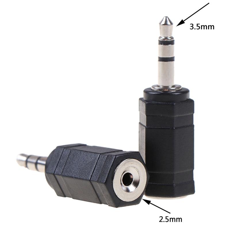 Adaptateur Jack stéréo 3.5 Mm mâle à 2.5 Mm femelle, 3.5 à 2.5, Audio Pc, casque d'écoute, convertisseur d'écouteurs, prise de câble