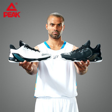 PEAK TONY PARKER V Mens Basketball Shoes Professional Cushioning Training Sneakers P-BOOM Tech Rebound Sports