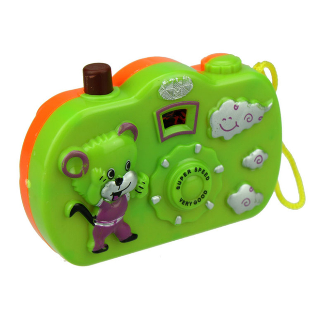 1pc Light Projection Camera Kids Educational Toys for Children Baby Gifts