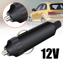 1pcs 12V Car Auto Male Cigarette Lighter Socket Plug Connector (NO Fuse No LED)