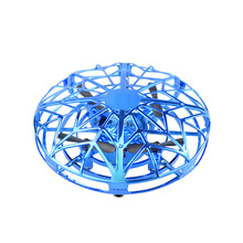 UFO induction aircraft  intelligent drone  UFO Drone Anti-collision Flying Helicopter Sensing Control Hand Flying Aircraft global drone 2ch remote control spaceman helicopter induction aircraft toy helicopter drone indoor children gift toys