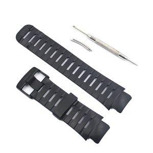 1 Набор, мягкий резиновый ремешок для часов, металлическая пряжка, ремешок для Suunto X-Lander, набор аксессуаров для умных часов