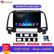 Junsun V1 Android 9.0 2G+32G DSP Car Radio Multimedia Video Player For Hyundai Santa Fe 2 2006-2012 Navigation GPS 2 din no dvd(China)