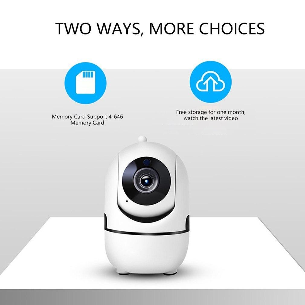 Auto-suivi caméra Hd Mini caméra de Surveillance intelligente 360 degrés maison Wifi réseau caméra Hd Vision nocturne moniteur