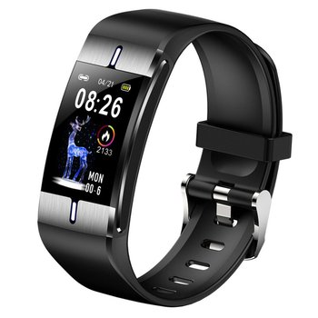 BM08 Smart Bracelet Body Fat Blood Pressure Measurement Band Heart Rate Monitor PPG Watch Activity Fitness Tracker Wristband фото