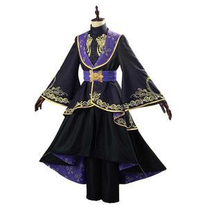 Витой Косплей Wonderland Косплей Костюм Кимоно для взрослых женщин униформа наряд платье Хэллоуин карнавальные костюмы