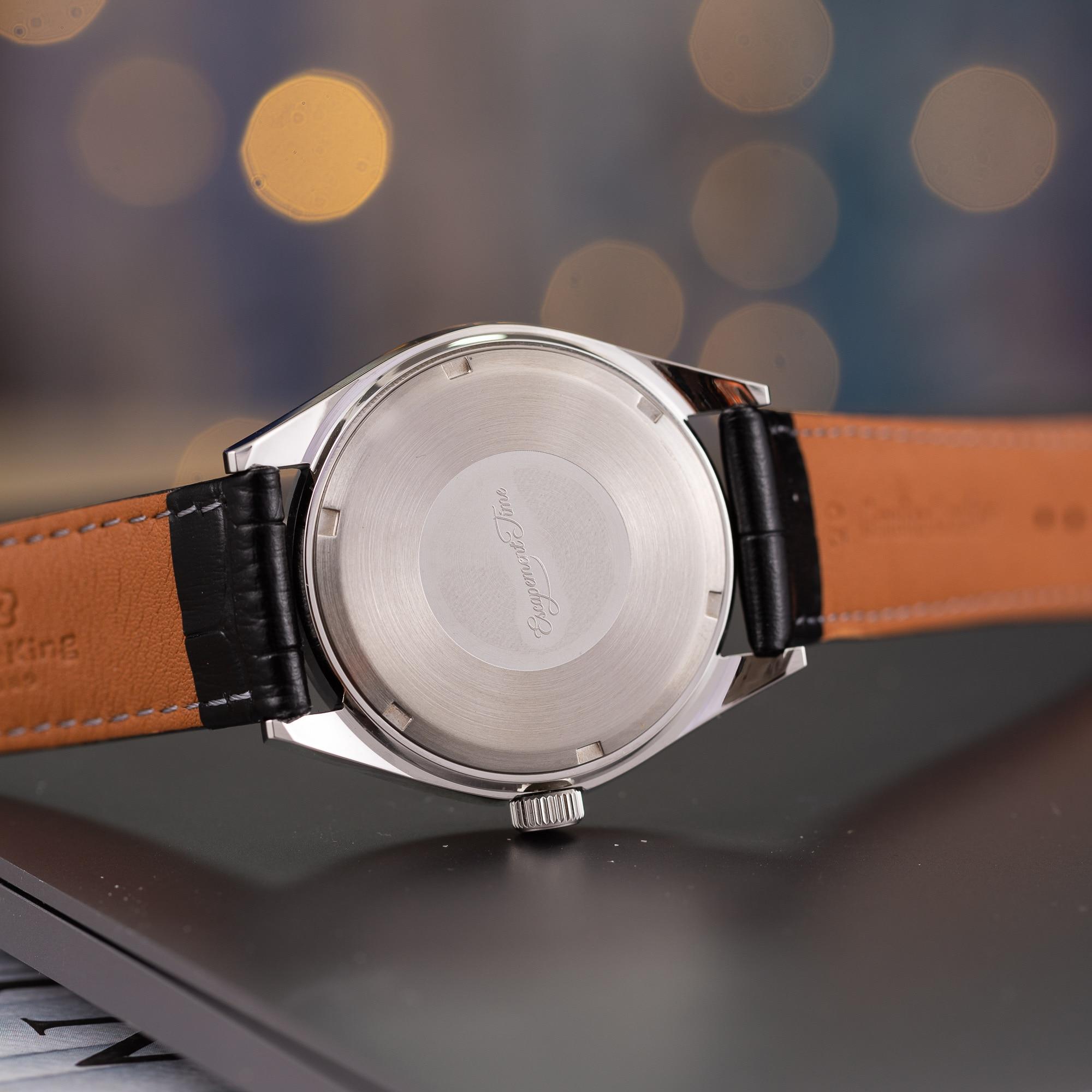 【Escapement time】Quartz Watch 40mm Case VH31  Heat Treatment Hand 5
