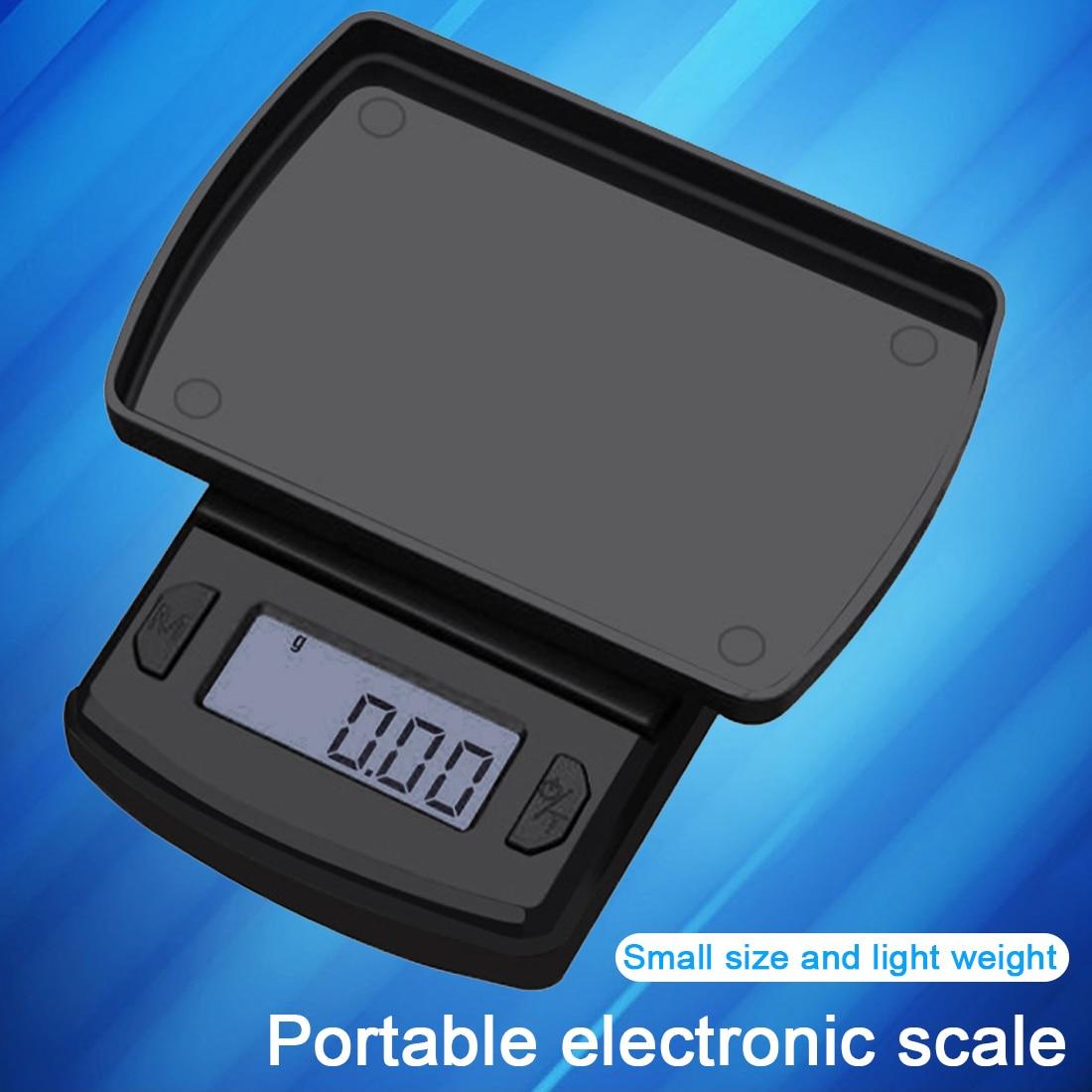 Высокая точность 500 г/200 г/100 г Мини цифровые весы ювелирные изделия из золота баланс Вес грамм ЖК-дисплей карман Вес ing электронные весы
