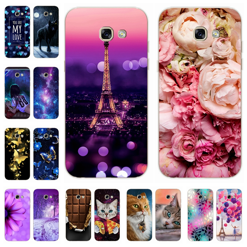 Silicone Cover For <font><b>Samsung</b></font> <font><b>Galaxy</b></font> <font><b>A5</b></font> 2017 2016 A520 A510 F Case 5.2' Phone case For <font><b>Samsung</b></font> A 5 2017 2016 <font><b>520</b></font> 510 F Fundas Coque image